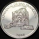 Panama Half Balboa, 2018 Gem Unc~San Francisco Convent Commemorative~Free Ship