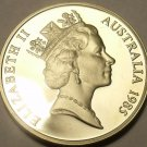 Australia 10 Cents, 1985 Cameo Proof~Only 75,000 Minted~Lyrebird~Free Shipping