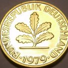 Germany 10 Pfennig, 1979-F Proof~Only 89,000 Minted~Minted In Stuttgart~Fr/Ship