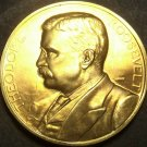 Gem Unc Theodore Roosevelt  Presidential Bronze Inauguration Medallion~Free Ship