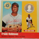 Rare .999 Silver Proof Frank Robinson 500 Club~Legends Of Baseball Cooperstown~