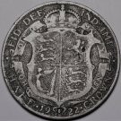Great Britain Half Crown, 1922 Silver~George V~Free Shipping