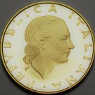 Italy 200 Lire, 1985 Proof~RARE~20,000 Minted~GEAR~Free Shipping