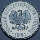 Poland 10 Groszy, 1981 RARE Proof~Eagle With Wings Open~5,000 Minted~Free Ship