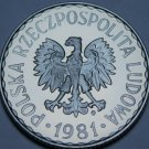 Poland Zloty, 1981 RARE Proof~Eagle With Wings Open~5,000 Minted~Free Shipping