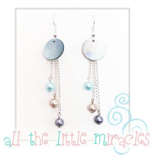 J18: Mother of Pearl drops