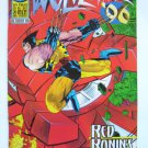 Wolverine '96 annual jeph loeb/mcguiness; The Silver Samurai -New MovieVillain