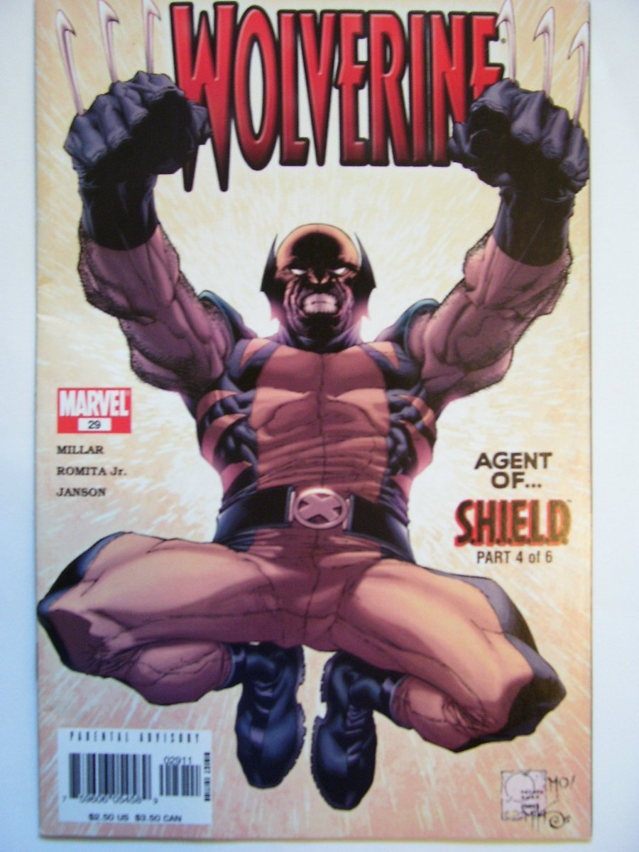 Wolverine #29 agent of shield