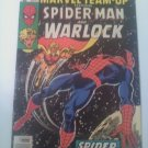 Marvel Team-up #55 Warlock & Spider-man Vs The Stranger quest for Infinity Stone