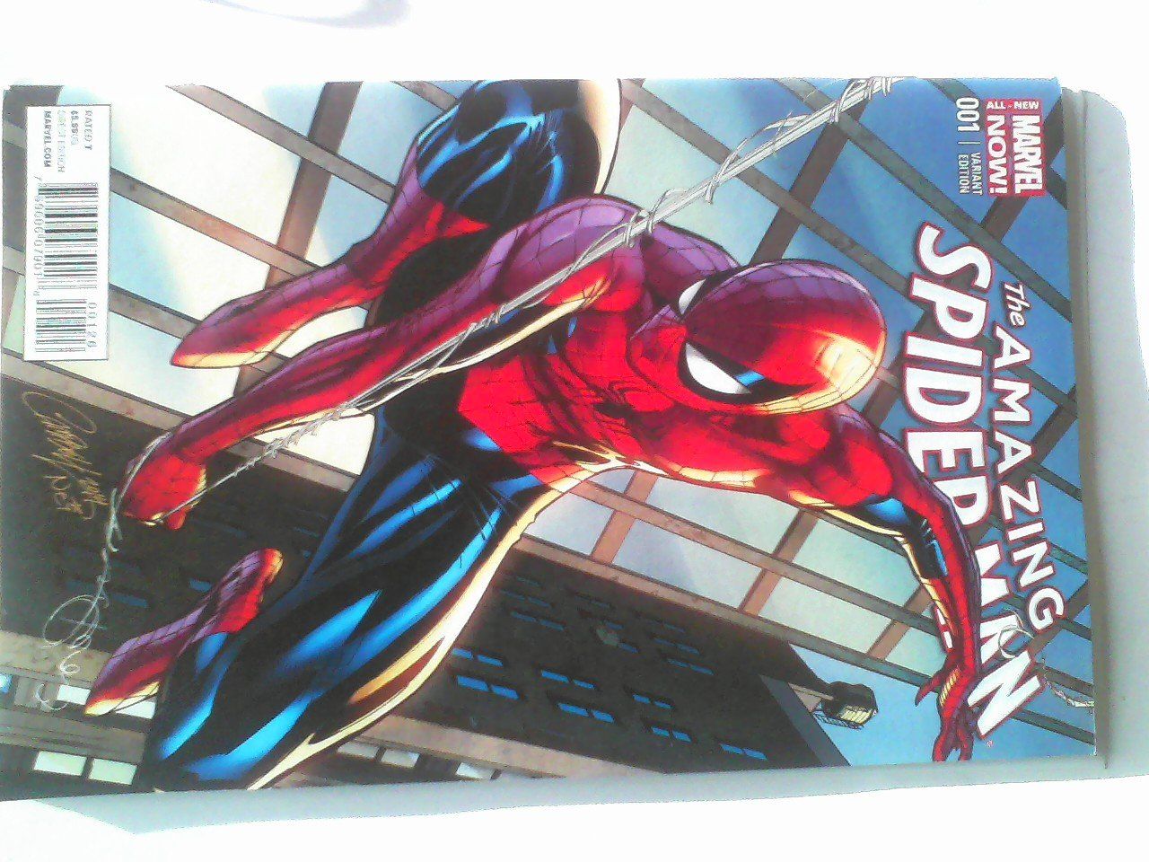 Amazing Spider-man #1 Campbell Variant