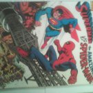 Oversized 1976  1st Superman Vs The Amazing Spider-man,Doc ock lex luthor,