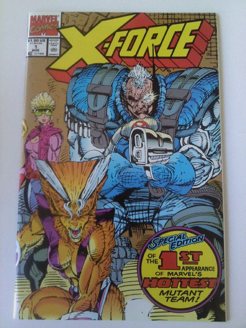 Uncanny X-men #201( baby) Cable #1 X-force # -1, 1-2nd Gold Edition, ,#3,7,8,9