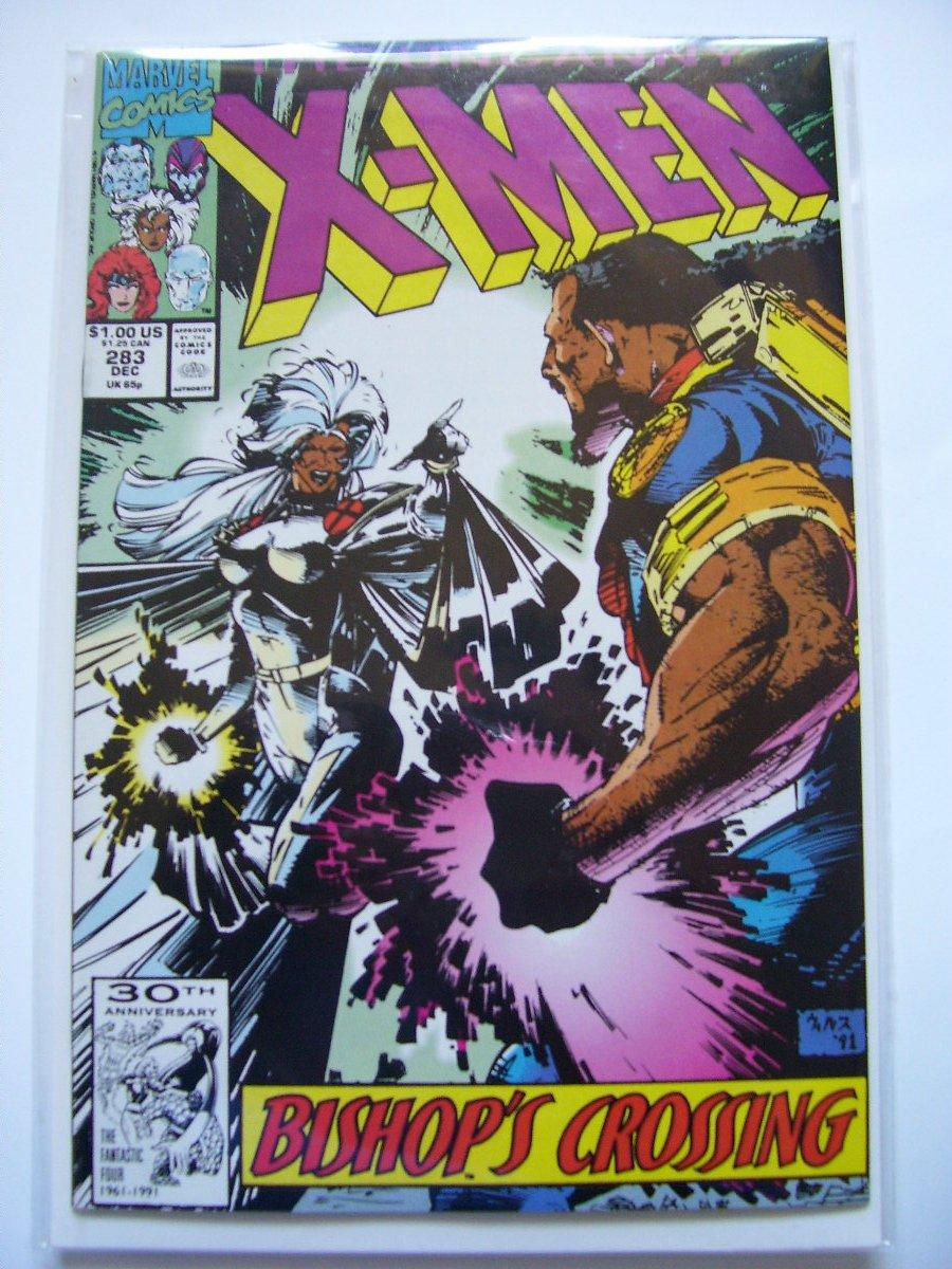 Uncanny X-men #283 2nd Appearance of Bishop (full)
