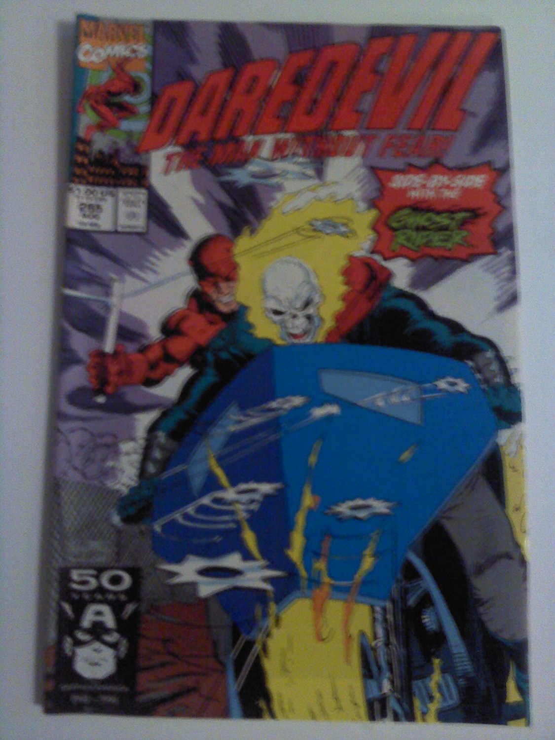 Daredevil #295 Ghostrider