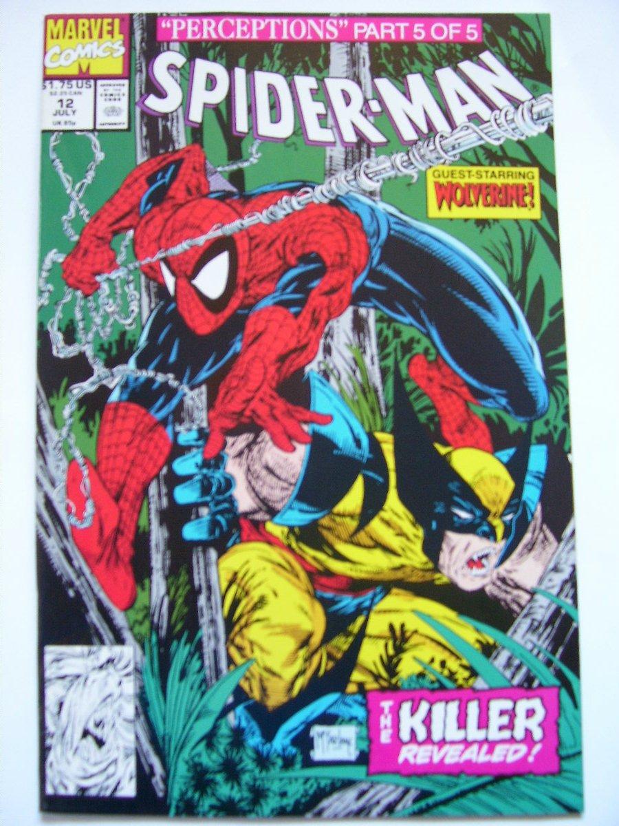 Spiderman #12 by Mcfarlane Wolverine & Wendigo