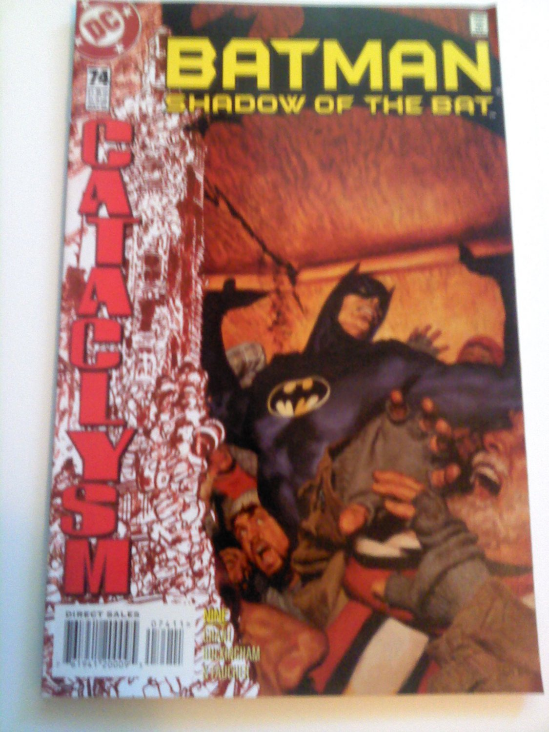 Batman Shadow of the bat #74 Cataclysm