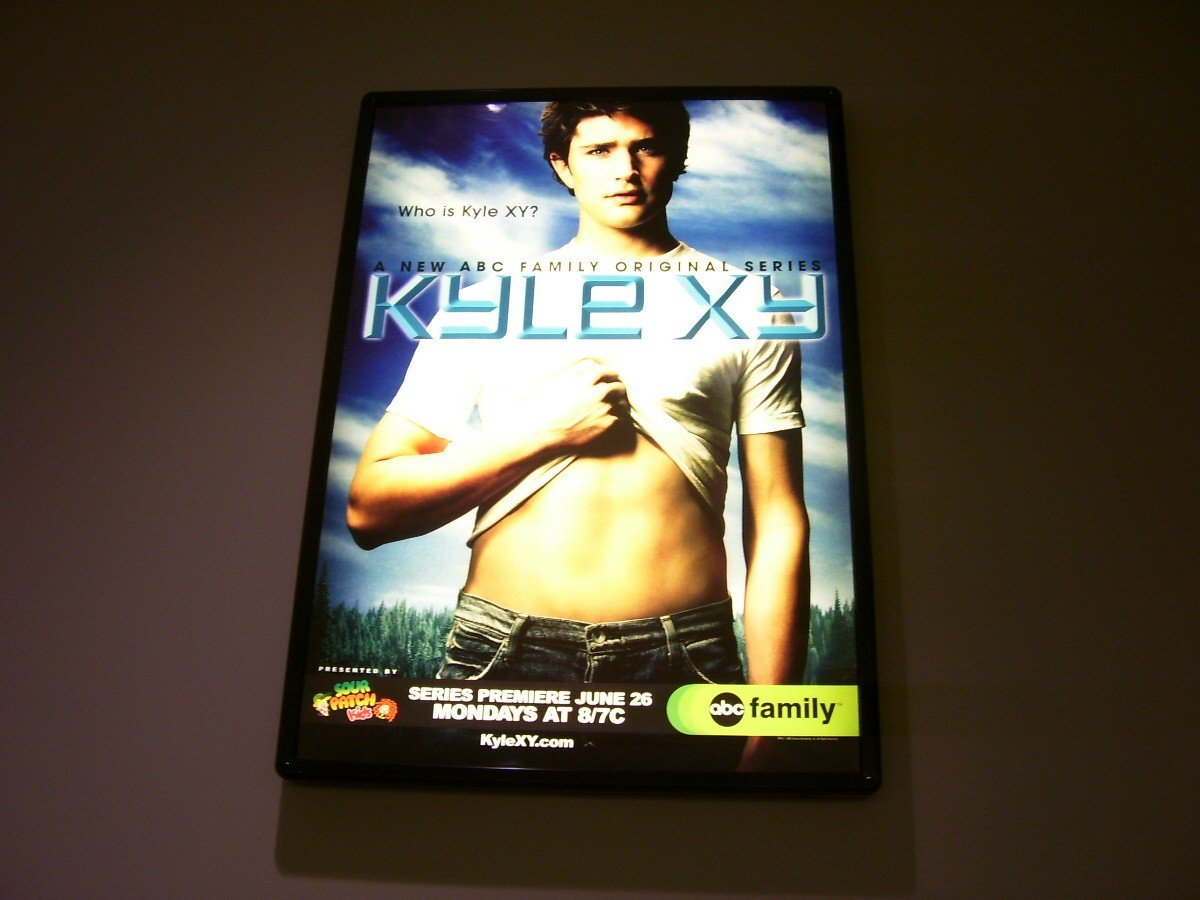 Kyle XY Original TV Show Poster Approx. 4 Feet by 5 feet 9 inches