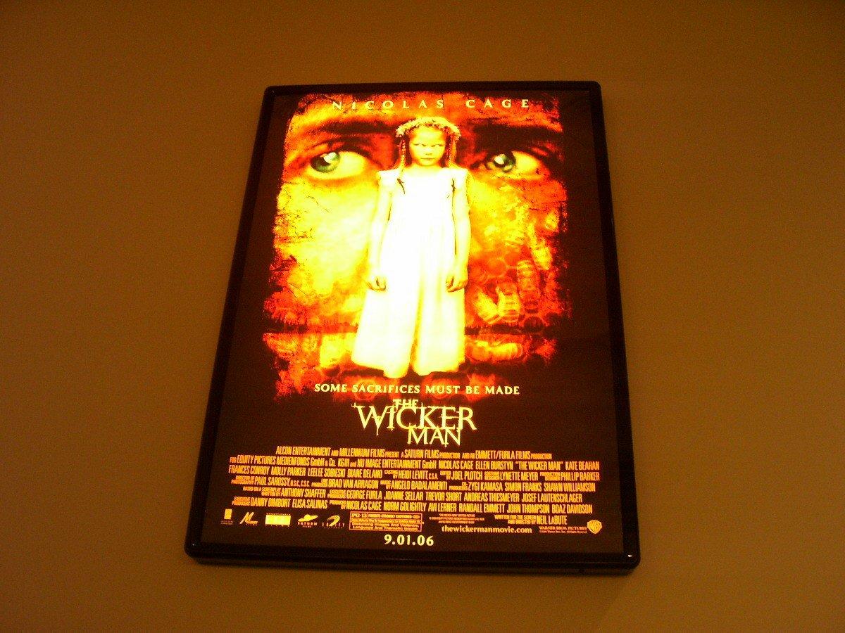 The Wicker Man Original Nicholas Cage Movie Poster Approx. 48 X 69
