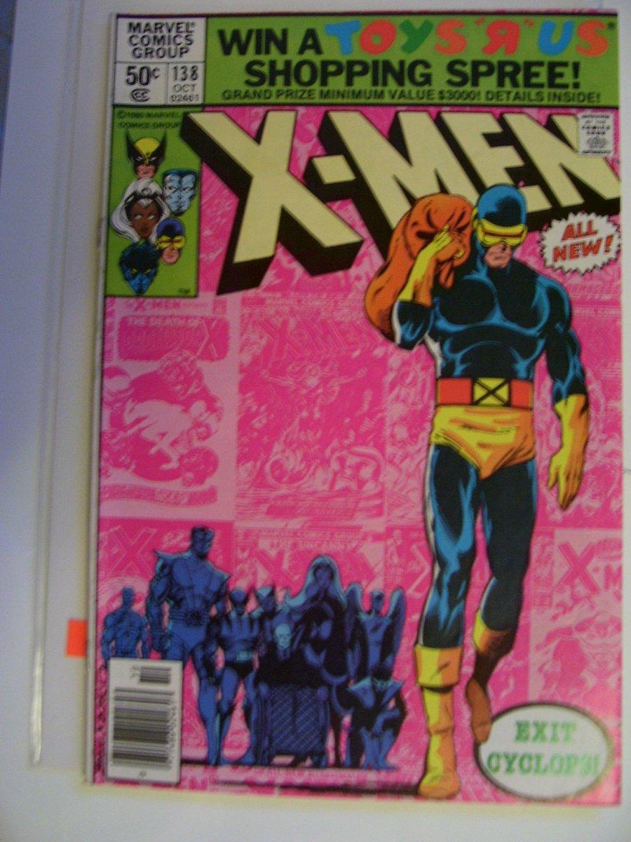 X-men #138 Exit Cyclops