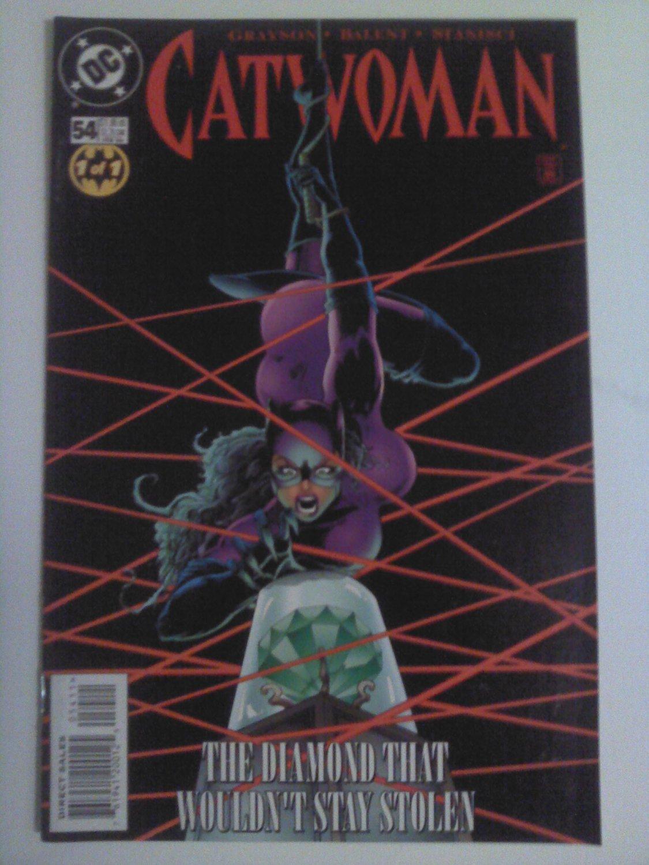 Catwoman Vol.2 #54 1st Devin Grayson script/Jim Balent