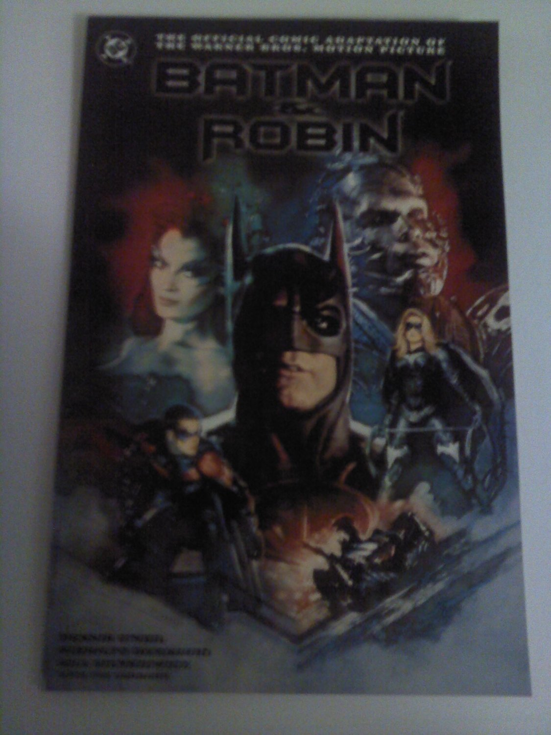 Batman and Robin Movie Adaption, Batman Run Riddler run pt3 Prestige Format Nm