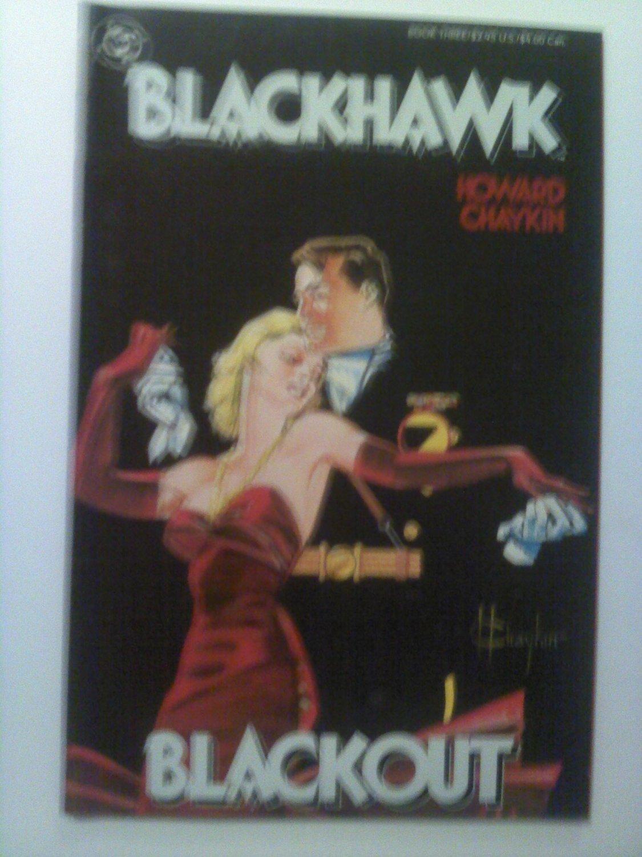 BlackHawk #3 By Howard Chaykin .Prestige Format