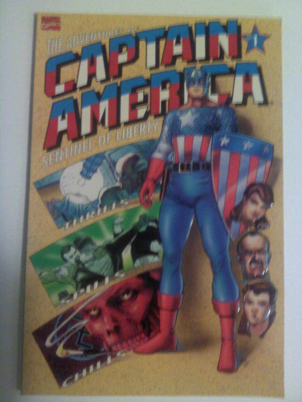 Adventures of Captain America Sentinel of liberty #1 Origin Prestige Format