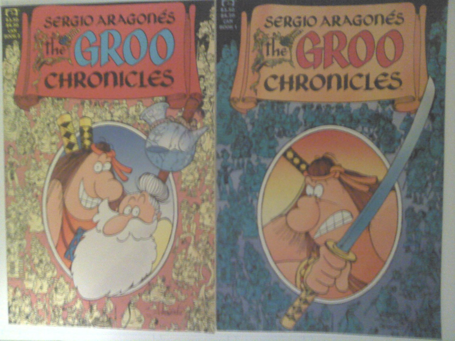 The Groo Chronicles #1 & #2 by Sergio Aragones Prestige Format