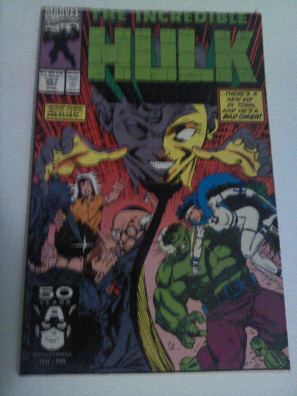 Incredible Hulk #387 Dale Keown story little hitler 1st Appearance of Speedfreek