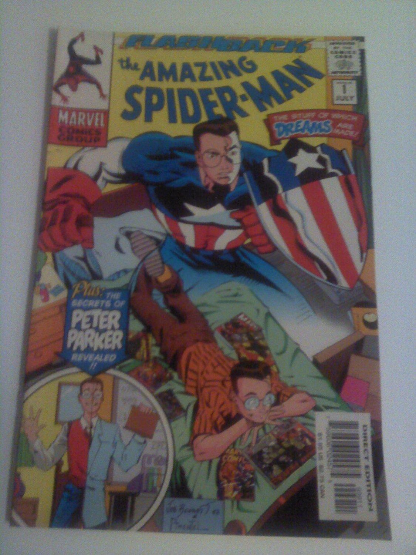 Amazing Spiderman -1 Flashback to childhood The secret of Peter Parker Revealed