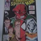 Amazing Spiderman #366 What's the truth behind spidey's parents .Red Skull knows