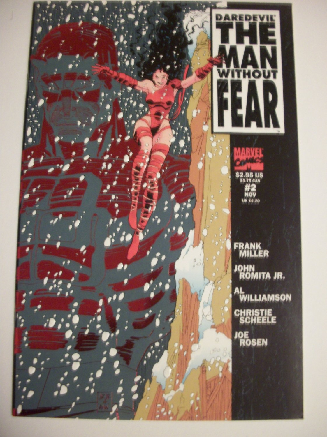 Daredevil The Man without Fear #2 by Frank Miller/John Romita Jr.