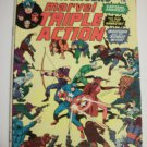 Marvel Triple Action Avengers #18 Reprint by Legendary Stan Lee /Don Heck & #1