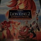 The Lion King 2 Simba's Pride Original DVD  Movie Poster  Approx. 48 X 69