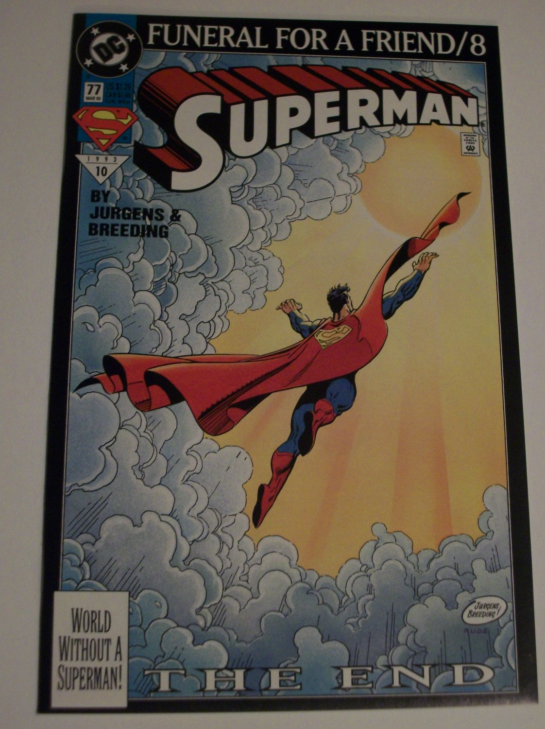 Superman #77, Adventures of Superman #500,,Man of Steel #25,Superman #81
