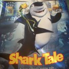 Shark Tale Original Movie Poster Approx. 48 X 69