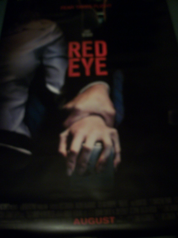 Red Eye Original Movie Poster Approx. 48 X 69