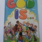 God is..1973 Bronze Kiddie Christian comic