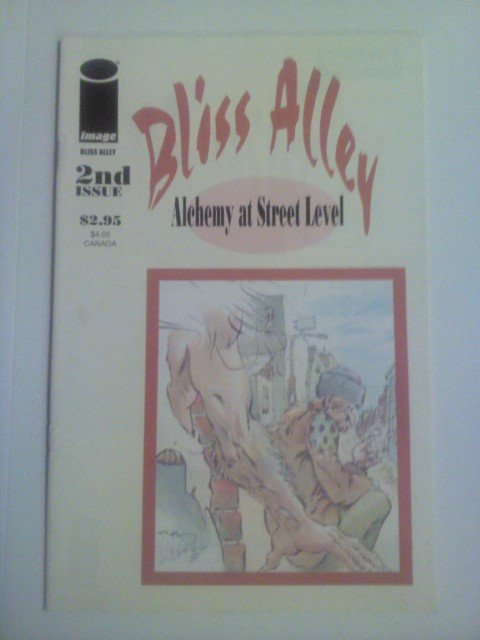 Bliss Alley #2 Alchemy at Street Level by Bill Messner-Loebs