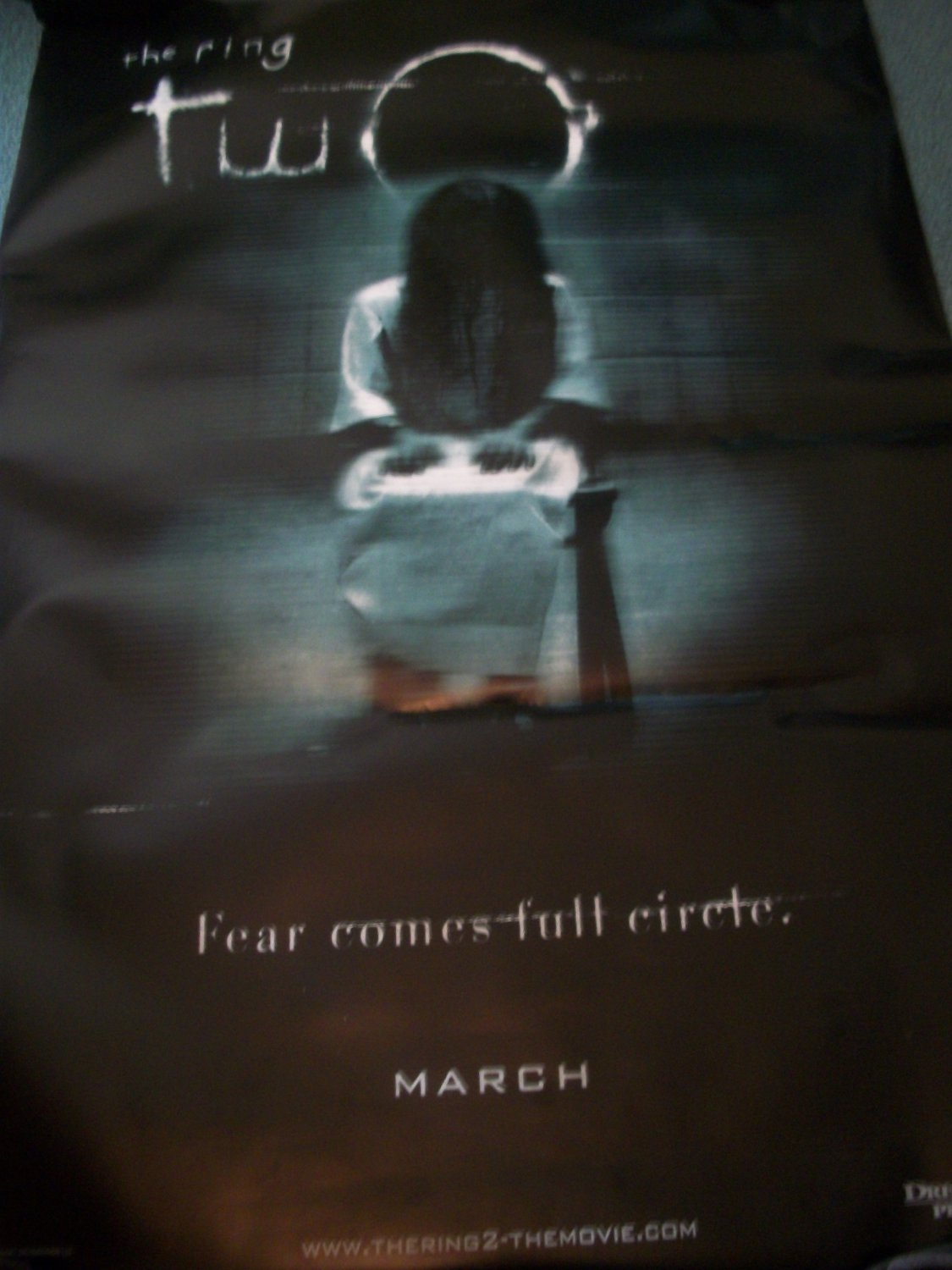 The Ring 2 Original Movie Poster Approx. 48 X 69