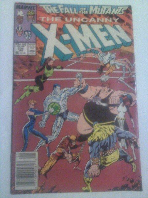Fall of the Mutants Uncanny X-men #225,#226,#227, New Mutants #60,61#100