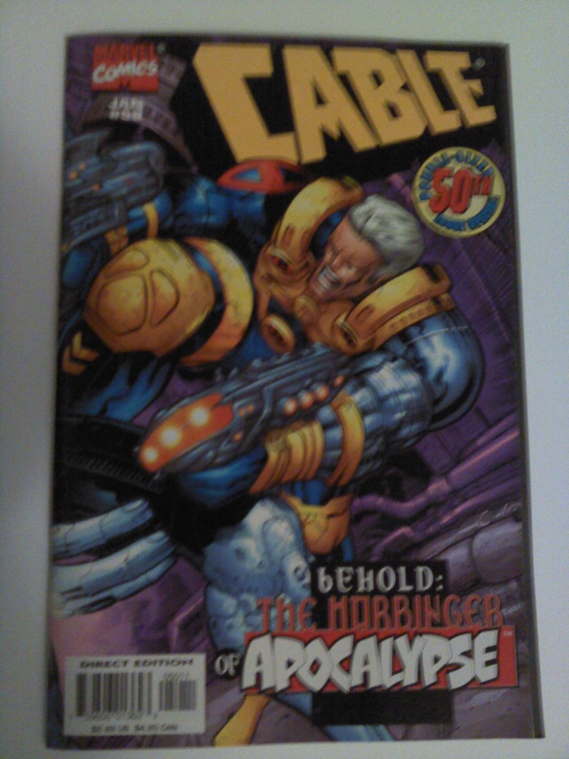 Cable #50 double size james robinson/ladronn