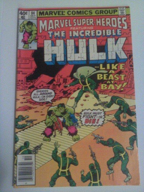 Marvel Super-Heroes Incredible Hulk #84 Reprint by Roy Thomas/Herb Trimpe