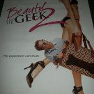 Beauty and the Geek 2 Original TV Show Poster Approx. 4 feet by 5 feet 9 in.