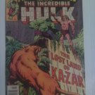Marvel Super-Heroes Incredible Hulk #63 The lost land of Ka-zar #64 Vs Umbu