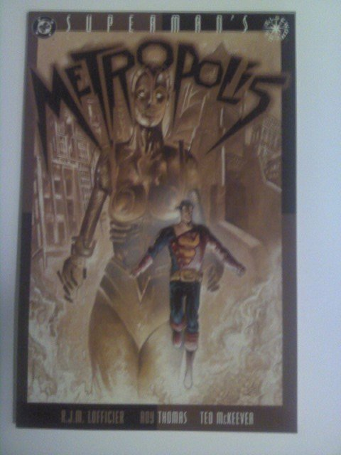 Superman's Metropolis Elsewhere Fritz Lang's Story / Steel Movie adaption NM