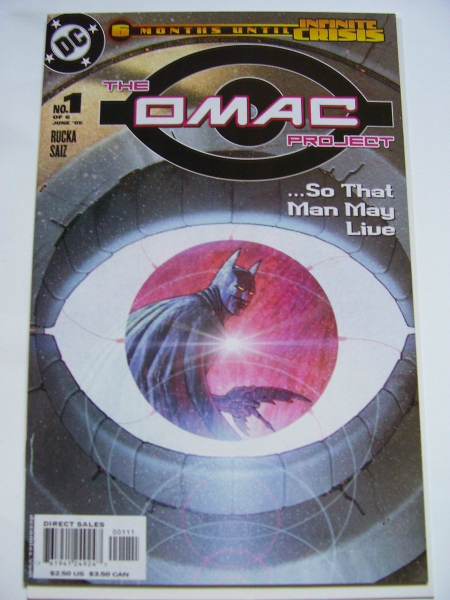 The Omac Project #1 ..So that man may live!
