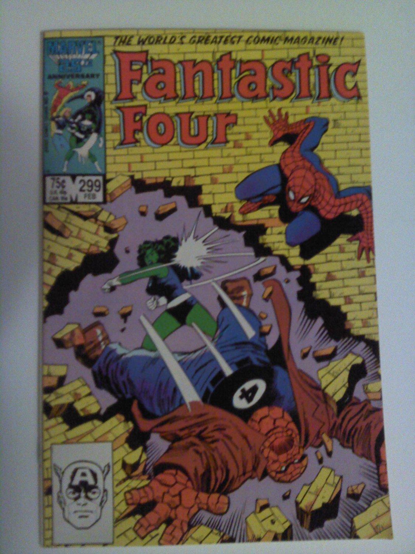 Fantastic Four #299 She-hulk vs The thing Stern/buscema