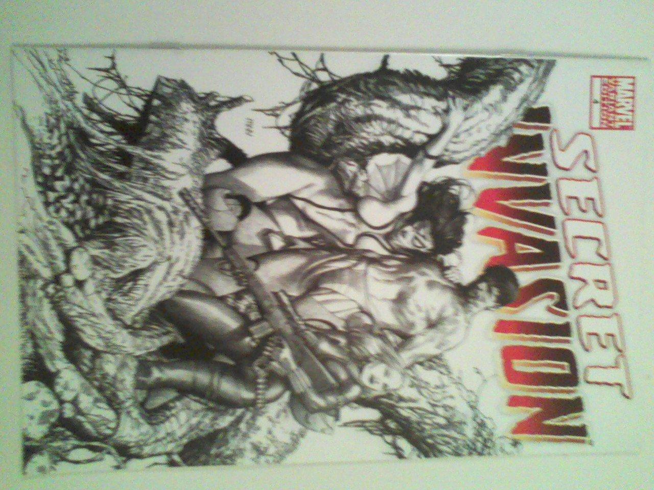 Secret Invasion #4 Incentive Steve McNiven Sketch Variant Cover