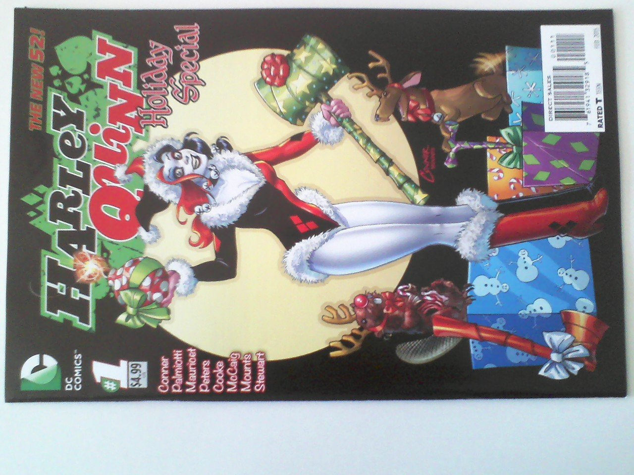Harley Quinn Holiday Special #1 ,Hitman #16